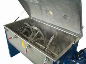 Horizontales de acero inoxidable especia café en polvo Leche en polvo de cinta de opciones de alimentos máquina mezcladora batidora para mezcla de polvo seco
