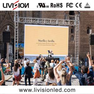 高品質の移動広告のための屋外のレンタルフルカラーのLED表示スクリーンP3.9/4.8 LEDのパネル・ディスプレイ