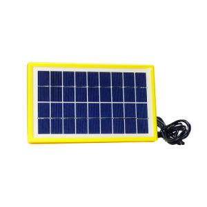 3 Вт портативный генератор солнечной энергии с выходного постоянного тока и порт USB