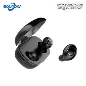 Micが付いているアマゾントップセラーのTure無線Bluetoothのイヤホーンを取り消す騒音
