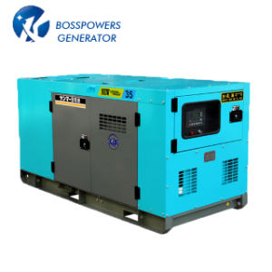 Macht van de elektriciteit sloot Geluiddichte Diesel 25kVA Generator met Motor Isuzu in