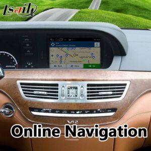 Korea-Schnittstellen-Auto GPS-Navigations-Kasten des Android-6.0 für Kategorie 2008-2009 MERCEDES-BENZc E S W221 mit Mirrorlink, WiFi