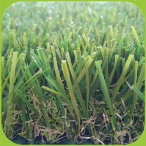 Tapijt van het Gras van het Gazon van de niet-opvulling het Synthetische Kunstmatige