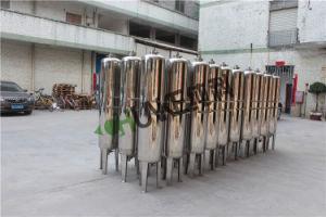 Réservoir d'eau en acier inoxydable industrielle Système de filtre à sable