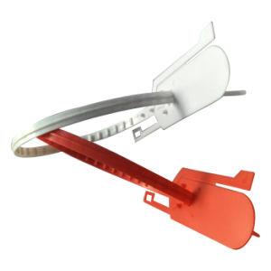 Tire de la apretada indicativos de plástico de las juntas de bloqueo para el equipaje (KD-104)