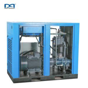 Giratorio Duoble de frecuencia variable de Ahorro de energía libre de aceite y combinados de alta presión del compresor de aire de tornillo