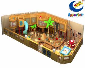 Детский мягкий играть игровая площадка для установки внутри помещений с помощью слайда