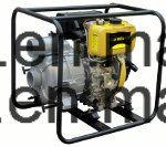 Diesel van de Hoge druk van het Gietijzer de Lucht Gekoelde Pomp van het Water