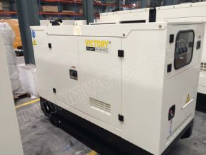 gerador 64kw/80kVA Diesel silencioso super com o motor BRITÂNICO Ce/CIQ/Soncap/ISO de Perkins