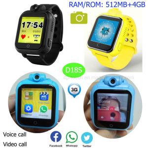 Los niños de 3G del sistema Android Tracker ver con 4G de memoria D18s