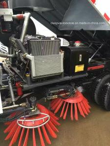 Маленький 6 Колеса Стрит очистите погрузчик 4000 Л JAC дороги щеточная машина для продажи