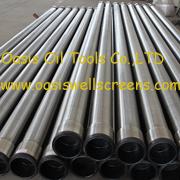 Aço inoxidável 316L envolta com arame Tubo de tela de arame de cunha