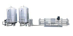 Filtro de purificación de agua Sistema de tratamiento para el socorro de emergencia (50 000LPH)