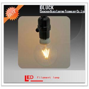 G80 4W B22 Glass Bulb LED Filament Lamp Bulb (G80C4-3.5-B22)