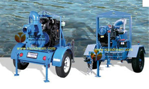 Móvil de autocebado Bomba de motor Diesel
