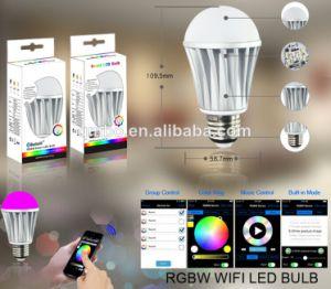 Função de voz do Temporizador de música Bluetooth a intensidade de brilho CCT lâmpada LED