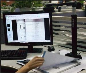 HD Hochgeschwindigkeitsscanner des Dokumenten-A3 (S500A3b