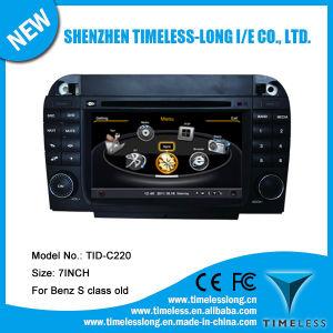 DVD для Benz S Class W220 2003-2004 с встроенной GPS-A8 набора микросхем RDS Bt 3G/WiFi радио 20 Dics Momery DSP (TID-C220)