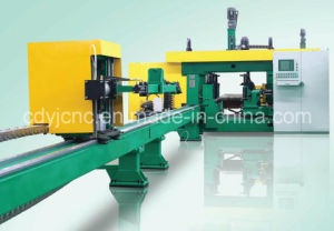 Machine de perçage de poutres 3D CNC (à sept axes) pour Hbeam Box Beam Ubeam