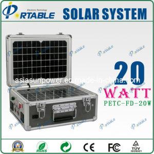 Solar20W generatorsystem für Hauptbeleuchtung (PETC-FD-20W)