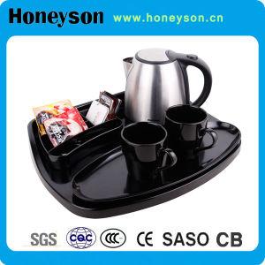 Bouilloire Honeyson Ss avec plateau pour hôtel 5 étoiles