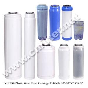 Nachfüllbares Wasser-Filtereinsatz-Gehäuse