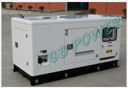 42,5 kVA/34kw tipo silenciosa do conjunto de geradores diesel