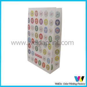Sacchi di carta del pane stampati abitudine