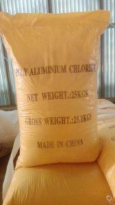 Het gele Chloride PAC van het Poly-aluminium van het Poeder voor het Gebruik van de Behandeling van het Water