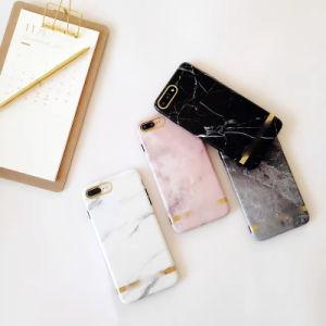 Spitzen-IMD TPU Marmortelefon-Kasten für Handy