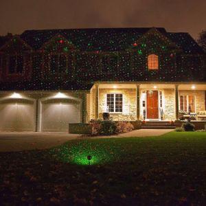 Il laser esterno IP65 dell'altoparlante di Bluetooth del giardino impermeabilizza l'illuminazione