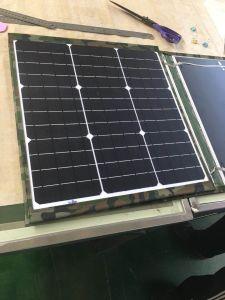 80 Watt Sunpower Panneau solaire pliable pour le moteur Accueil