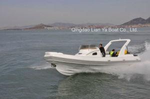 Liya 250HPの漁船の沖釣りのボートの肋骨のボートの速度のボート