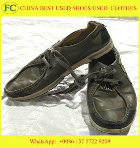 Grote Grootte en de Beste Goedkope In het groot Gebruikte Schoenen van Sporten Qualtiy (fcd-002)