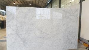 カラーラの白い余分大理石のタイル