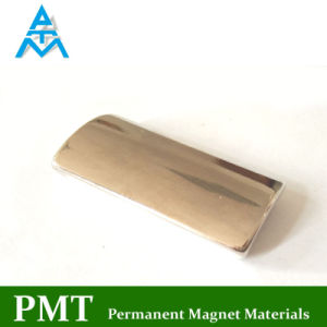 Magnete Tegular del motore del neodimio di N40h con il materiale magnetico di NdFeB