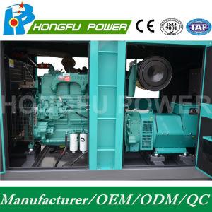 66kw 83kVA Cummins Dieselgenerator-Set mit galvanisiertem Kabinendach