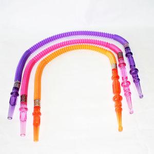 中国の工場卸売の厚く柔らかいシリコーンの管の水ぎせるの管の配水管のShishaの水ぎせる