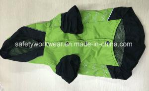 Reflective Stripes를 가진 옥외 Pet Clothes Dog Hooded Raincoat