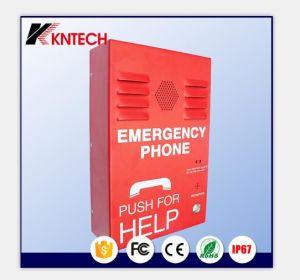 Авто Dail селекторной связи в чрезвычайных ситуациях нержавеющей водонепроницаемый телефон Knzd-38