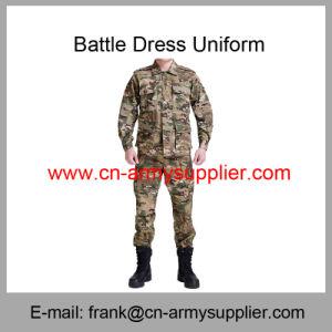 Camouflage Uniform-Military Uniform-Bdu vestido de batalha de modelo uniforme