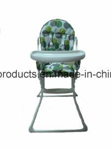 Entwerfer-Babyhighchair-Baby-Plastikabendessen-Stuhl