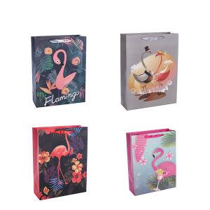 De goedkope het Winkelen van de Gift Wholesales van de Prijs Embleem Afgedrukte Verpakkende Zakken van het Document