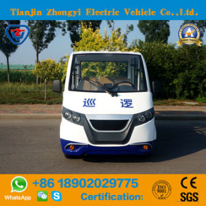 Elevador eléctrico de 4 Lugares Zhongyi assinaladas Viatura para patrulhar