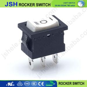 Kcd1-101 21*15mm sur off sur interrupteur à bascule avec six axes