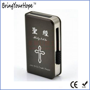 黒いコロイドUDP (XH-USB-181)が付いている金属のスリップの本USB駆動機構