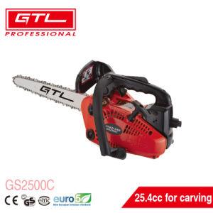 Jardín 25,4cc 2 Stroke gasolina Gasolina / madera inalámbrico motosierra / Sierra de cadena con Asa (GS2500C)