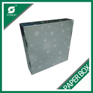 Comercio al por mayor caja de regalo de Navidad con inserto de cartón