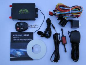 Automobil Google Karten-Fahrzeug GPS, das Arbeit GPS105 mit Kamera, Kraftstoff-Warnung, Steuerverschluss-System aufspürt