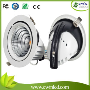 Cortar o diodo emissor de luz Downlight do tamanho 90mm com garantia 3years
